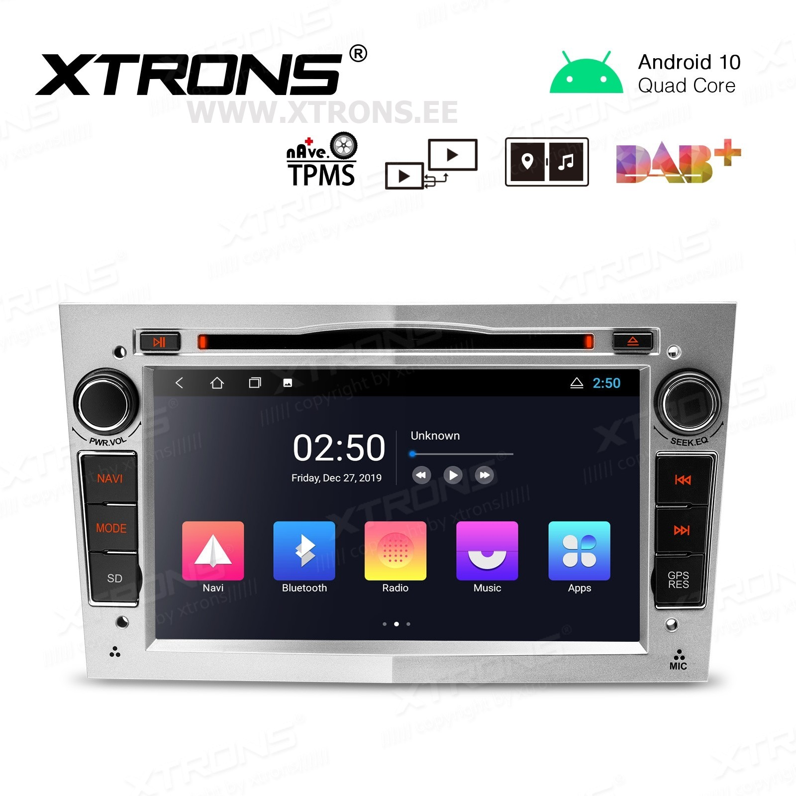 XTRONS PC70VXV-S