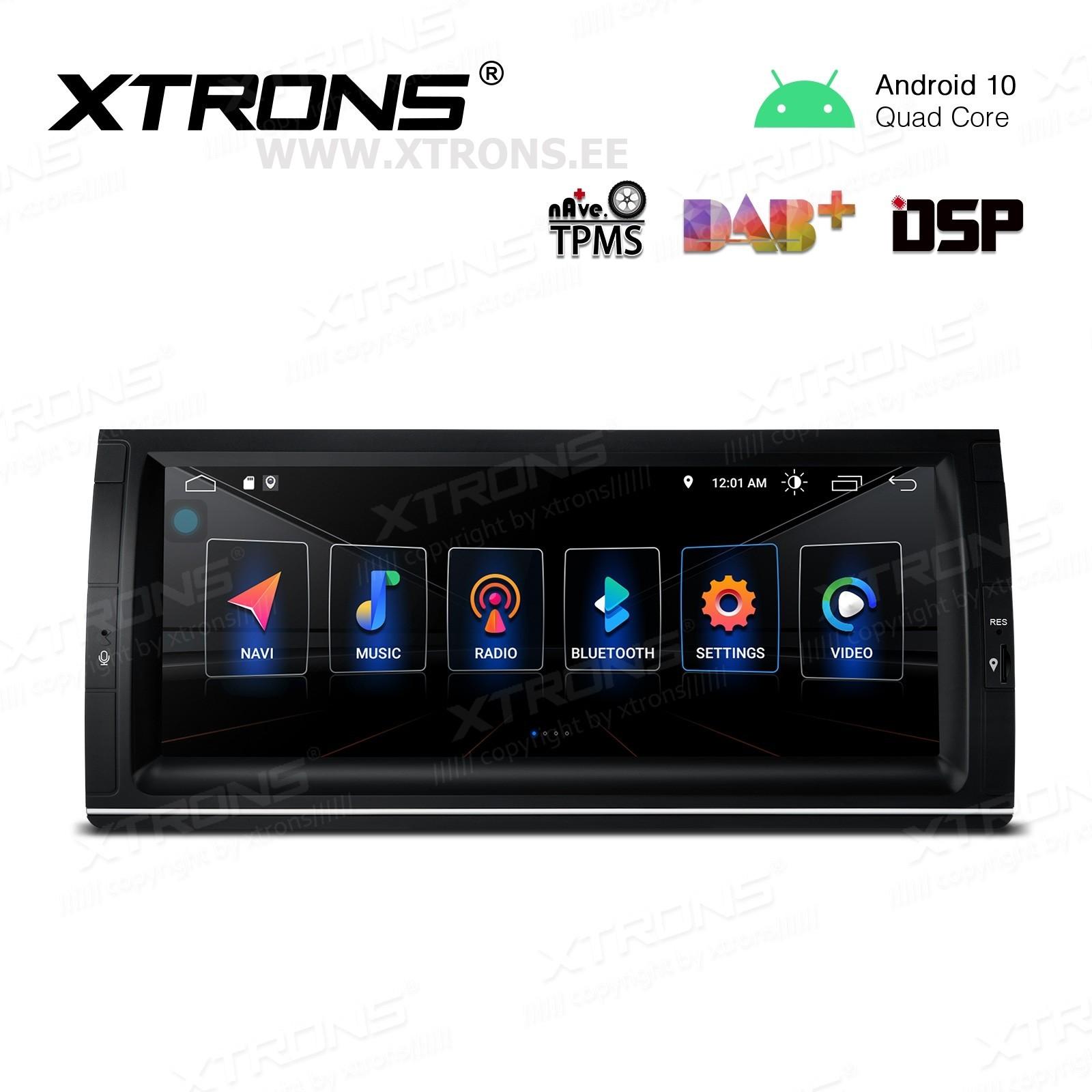 XTRONS PSD1053BL