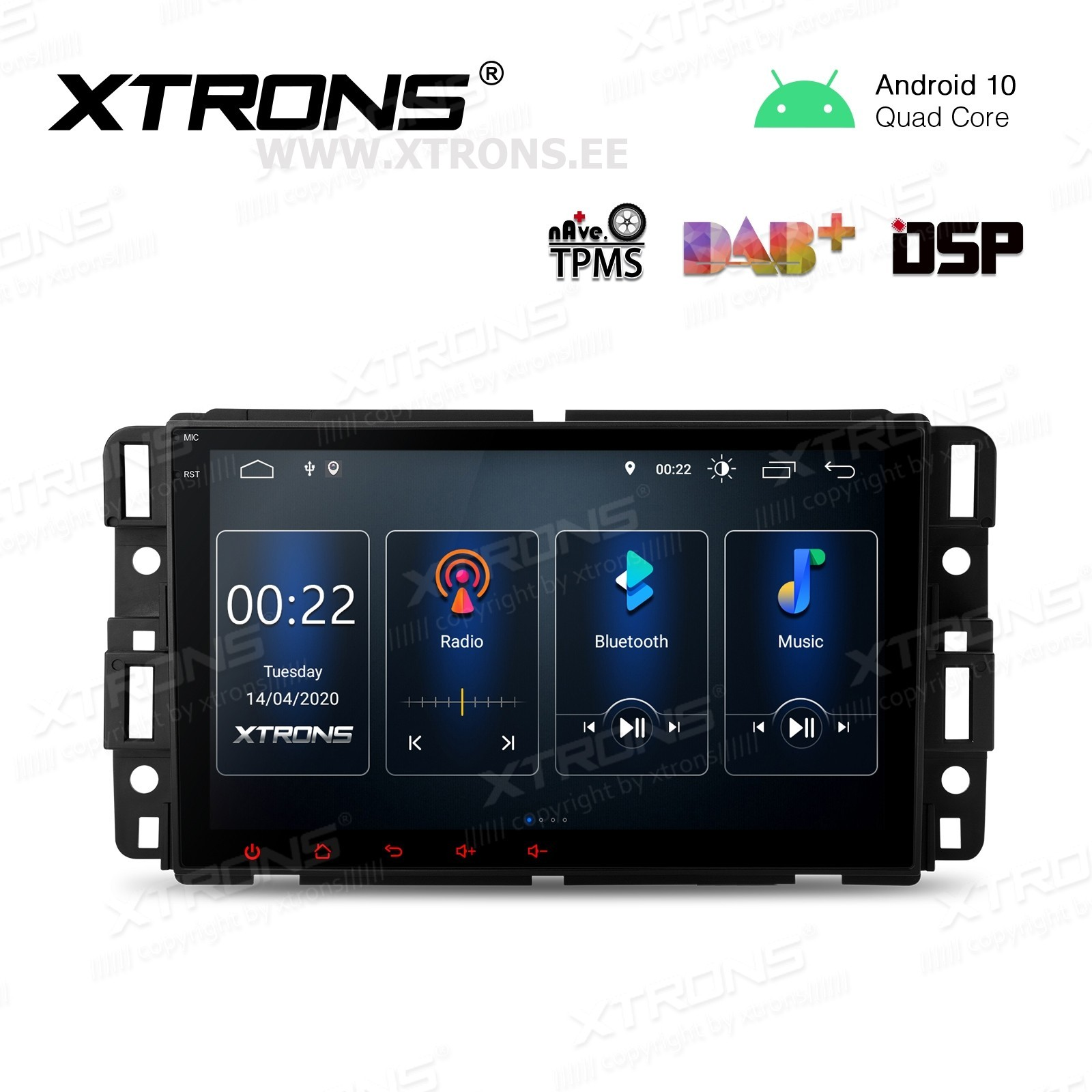 XTRONS PSD80JCCL