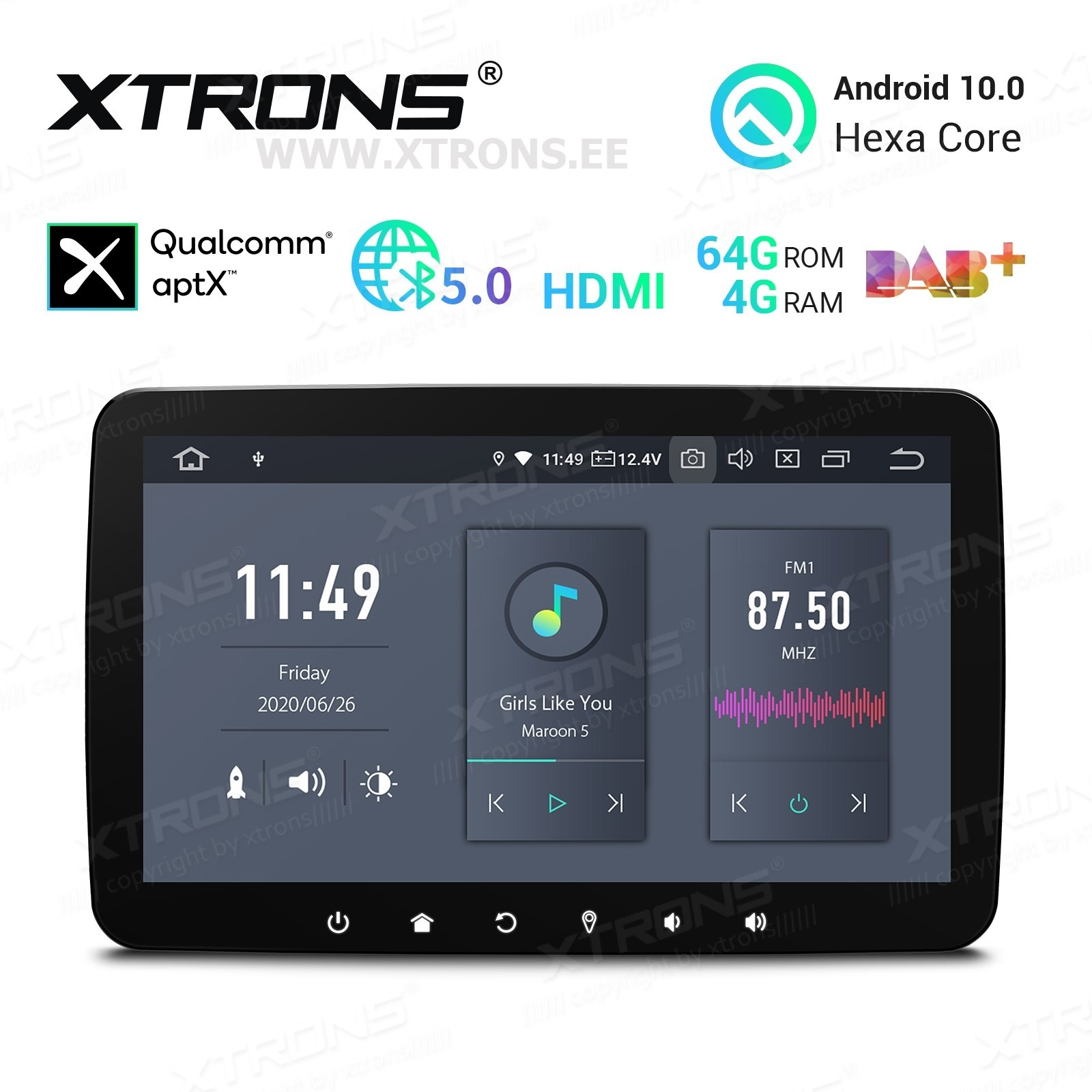 XTRONS DQ101L