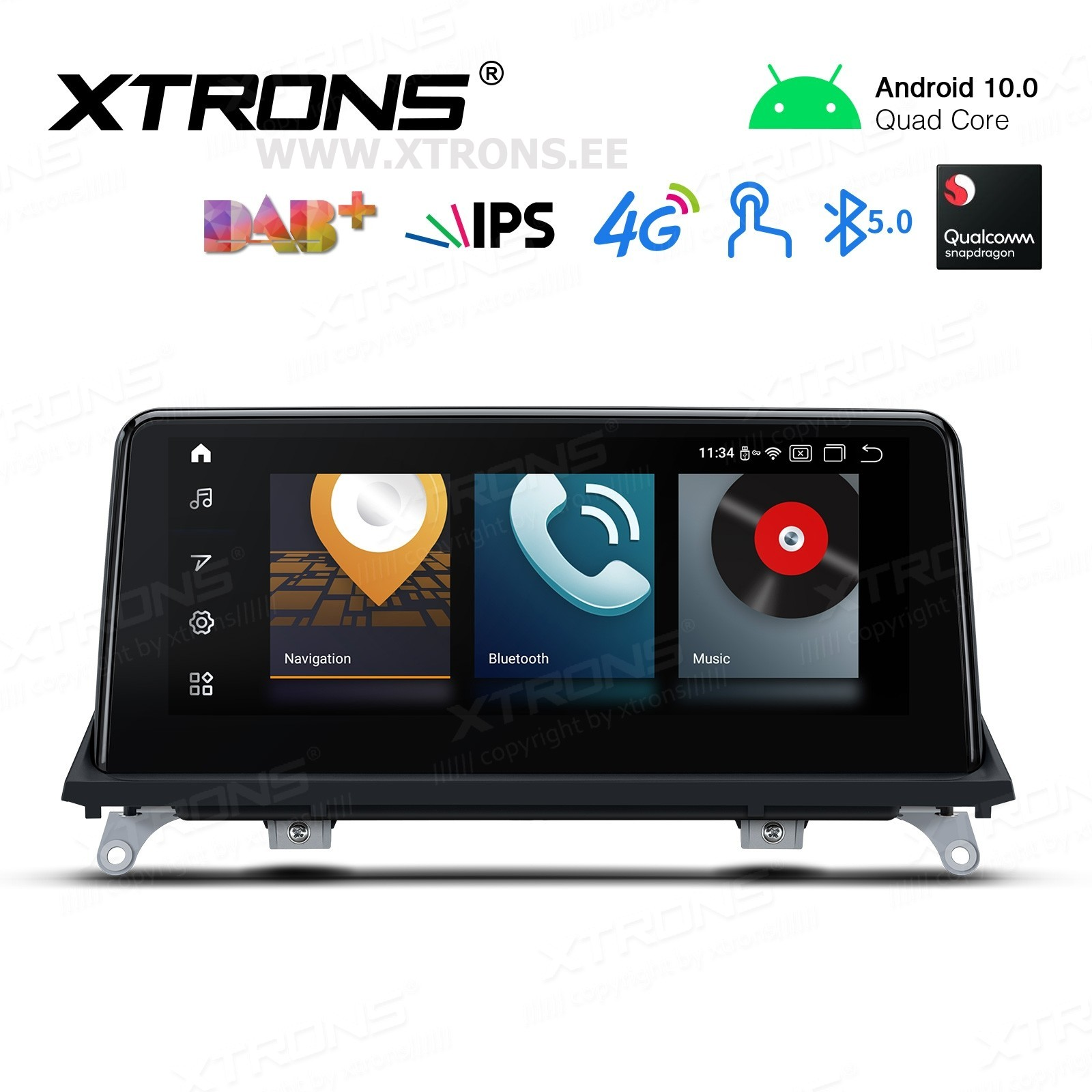 XTRONS QCB10X5CC