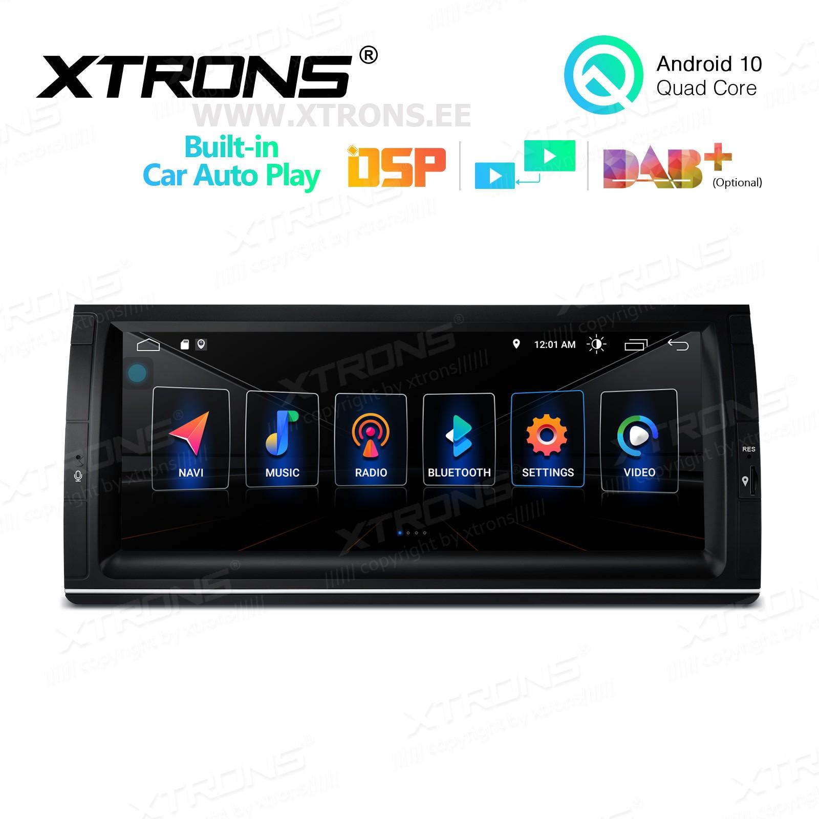 XTRONS PSA1053BL