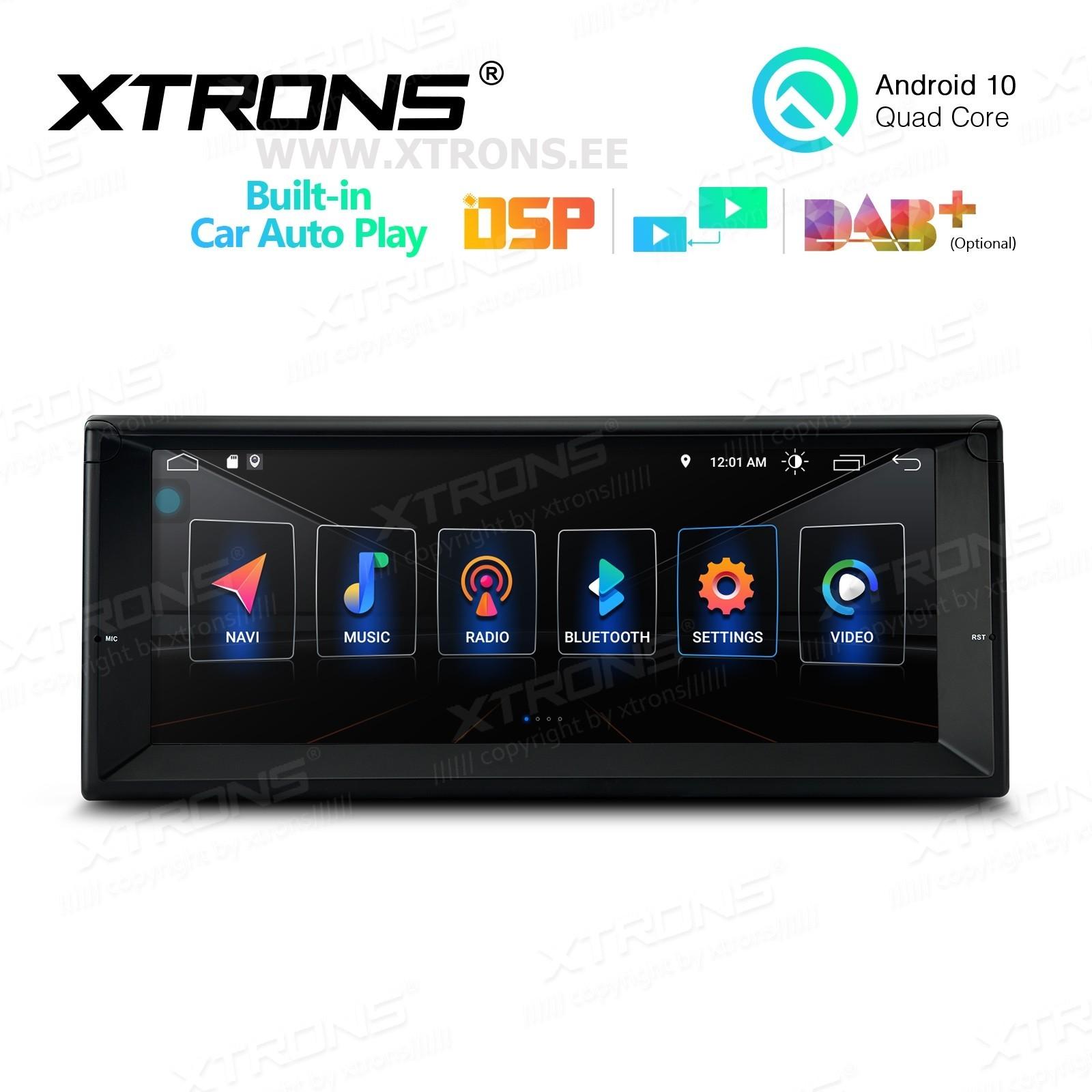 XTRONS PSA1039BL