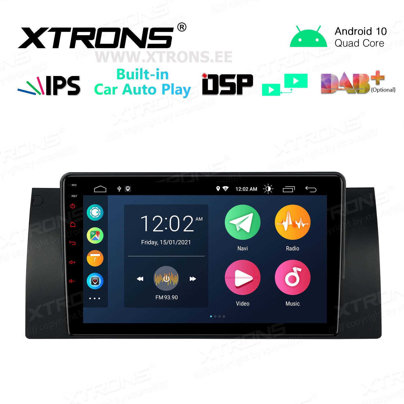 XTRONS PSP9053B