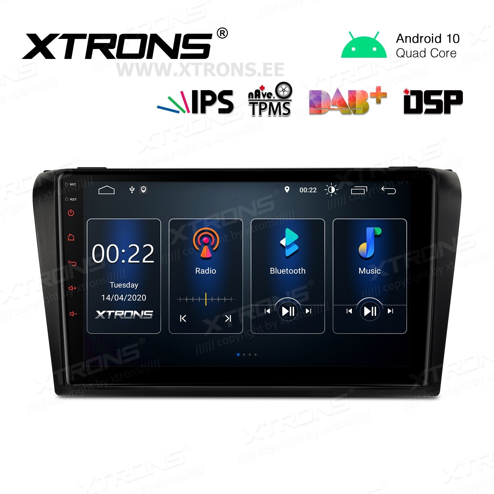 XTRONS PST90M3M