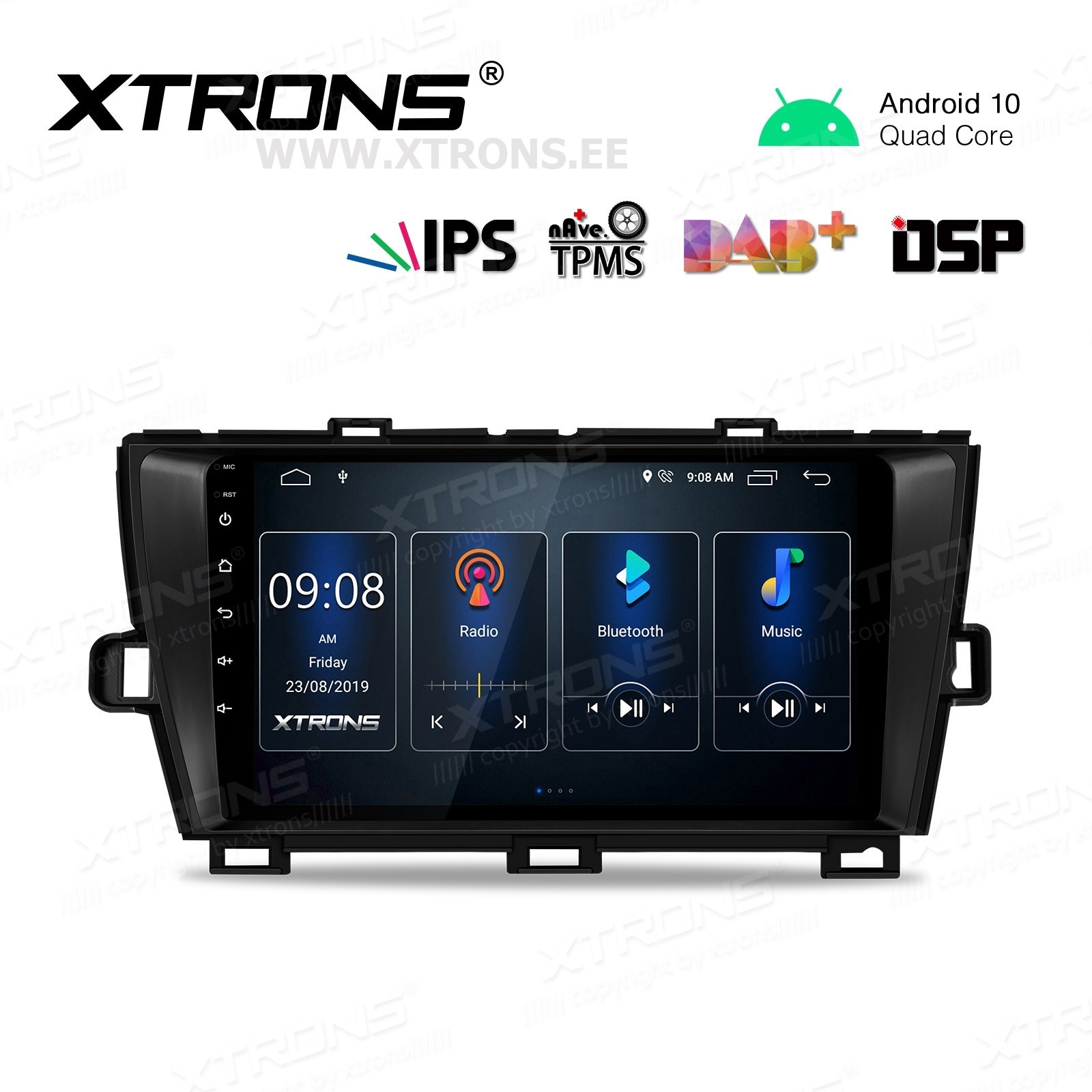 XTRONS PST90PST-LB