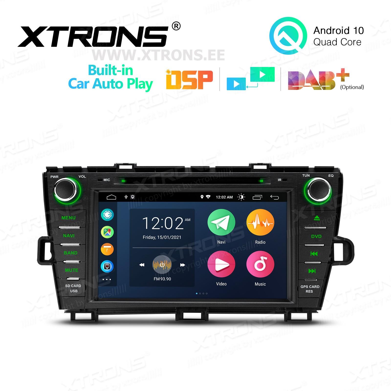 XTRONS PSA80PST-RB